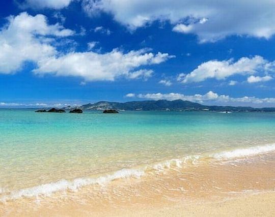 美しい海岸の夢