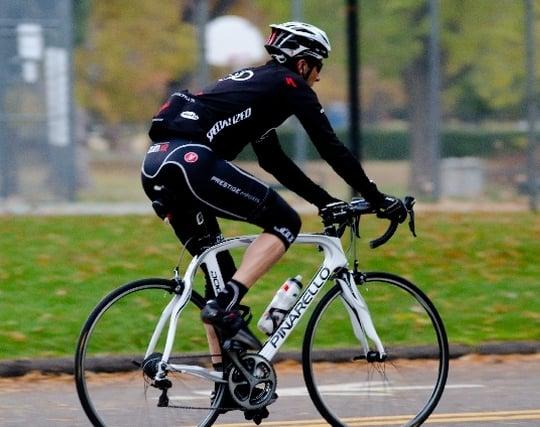 自転車でスピードを出す夢