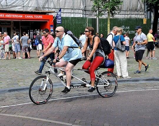 自転車に二人乗りする夢