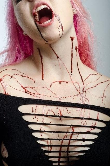 血まみれの怪我人を見る夢
