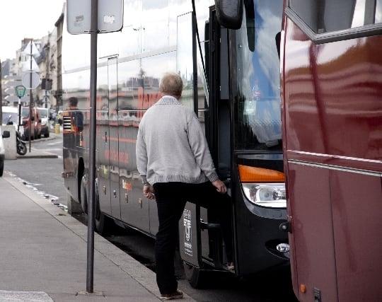 バスに<strong>乗る</strong>夢