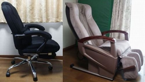 OA椅子とマッサージ椅子