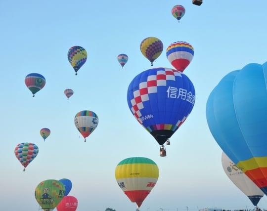 気球を追う夢