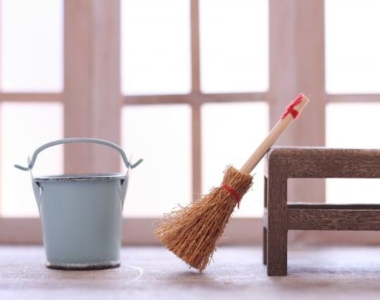 玄関を掃除して綺麗になる夢