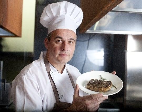 プロの料理人に料理を作ってもらう夢