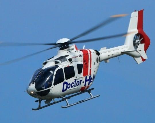 ヘリコプターの夢