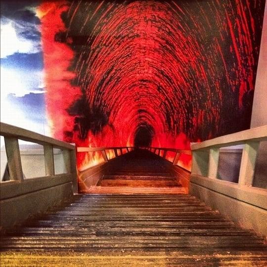 地獄のイメージを見る夢