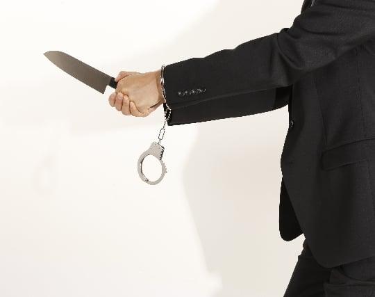 ナイフを突きつけられる夢