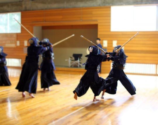 スポーツを練習する夢ー剣道を練習する夢