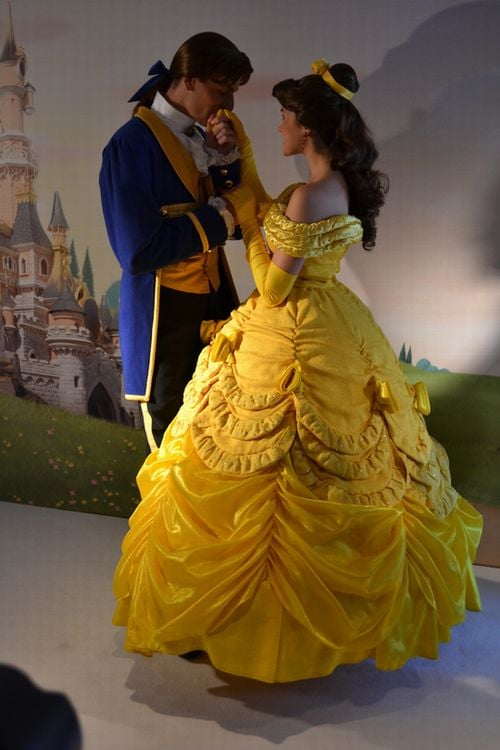 Princess Belle and Prince Adam