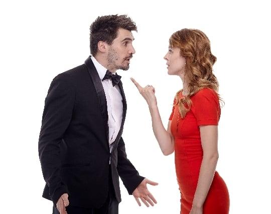 恋人と喧嘩する夢