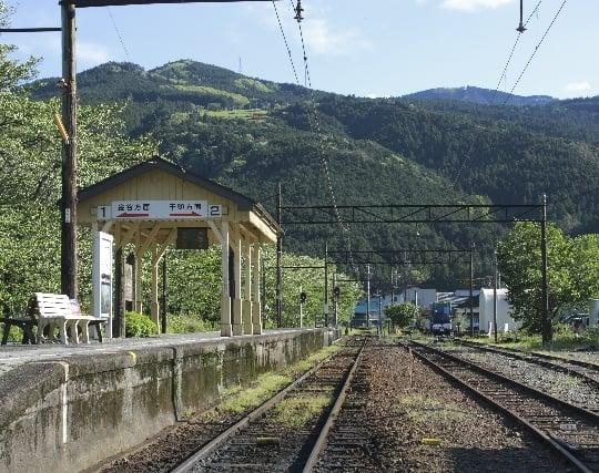 田舎のさびれた駅にいる夢