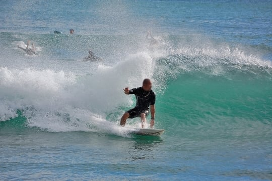 サーフィンの夢