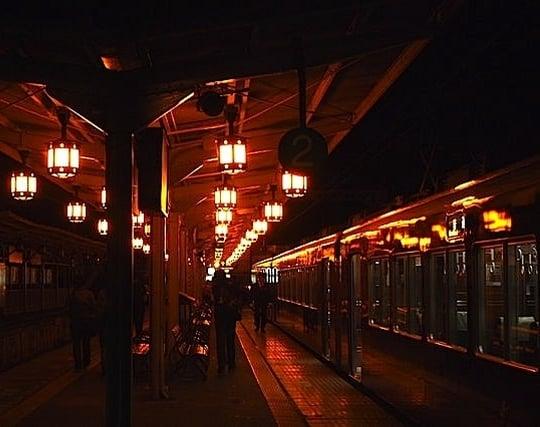 最終電車に乗る夢