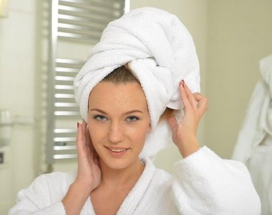 髪を洗う夢