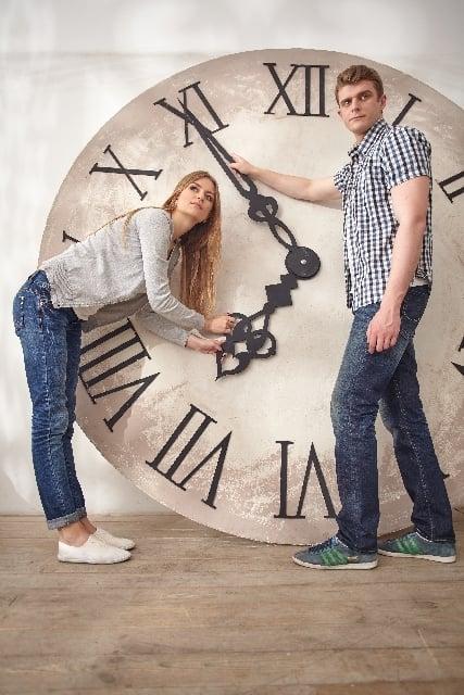 時計の針を進める夢