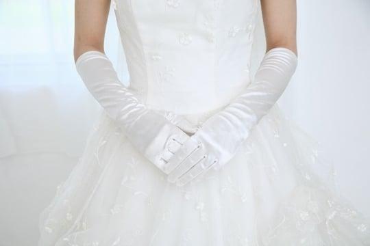 ウェディング<strong>ドレス</strong>を着ている夢