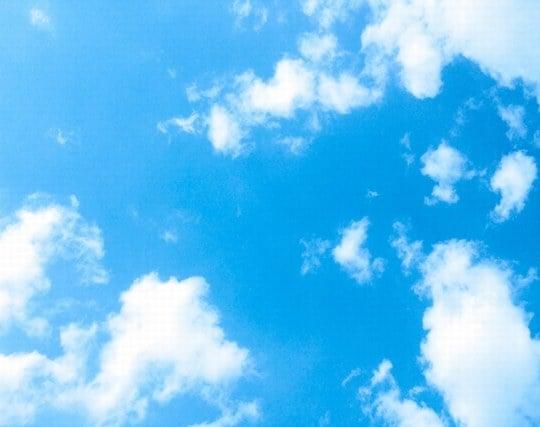 白い雲の夢