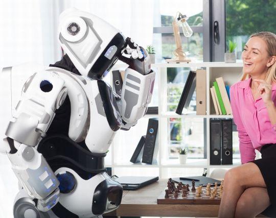 ロボットが泣く夢