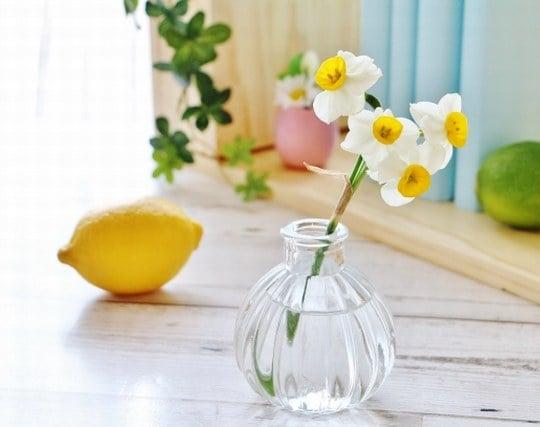 綺麗な花が飾られた机の夢