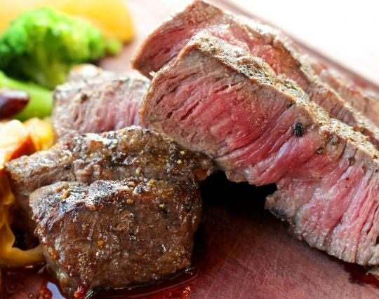 肉料理を食べる夢