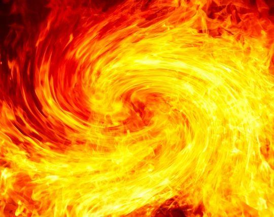 火事で竜巻が発生する夢