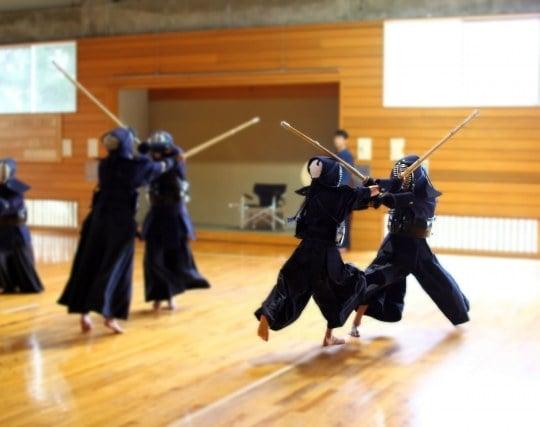 剣道をする夢