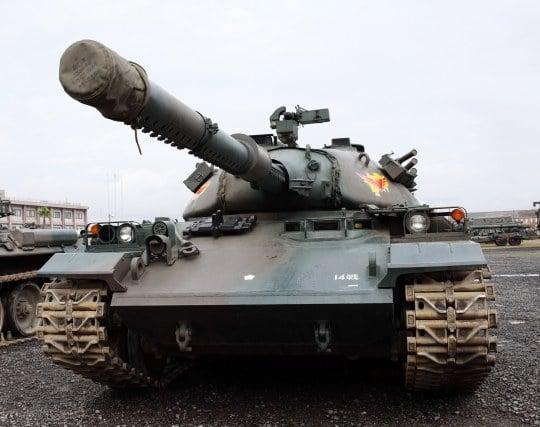 戦車が前進する夢