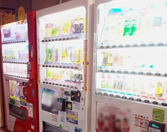 自動販売機が現れる夢