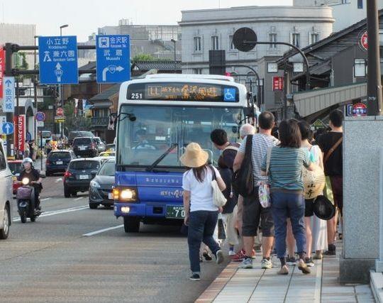 バス停でバスを待つ夢