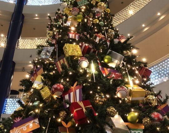 クリスマスツリーが印象的な夢