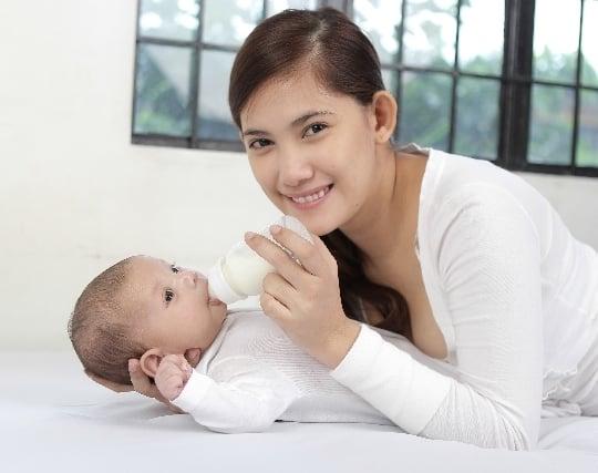赤ちゃんに授乳する夢