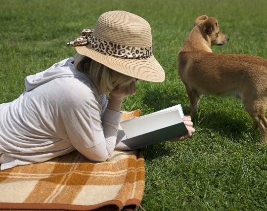 本を読む夢