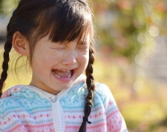 泣いている子供の夢