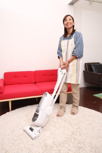 掃除機をかける夢