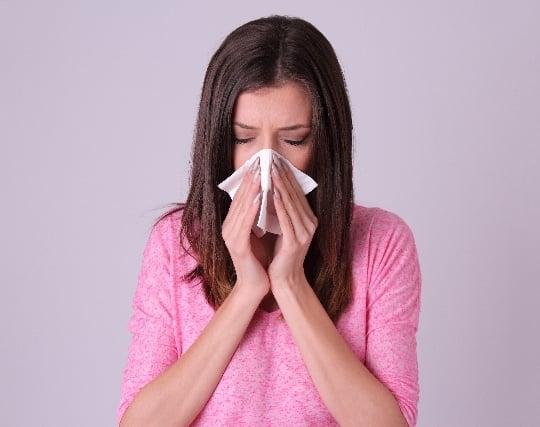 風邪を引いて鼻水が出る夢