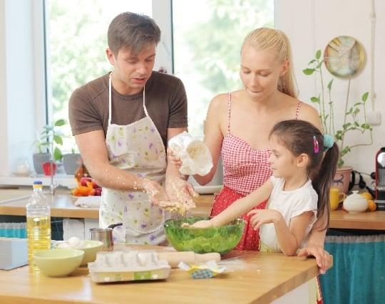 誰かと一緒に料理を作る夢