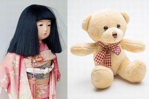 人形の夢・ぬいぐるみの夢