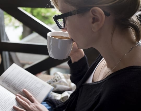 コーヒーを飲む夢