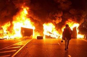 ゴウゴウと勢いよく燃える火事の夢