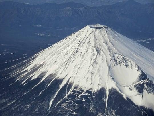 富士山が冠雪する夢