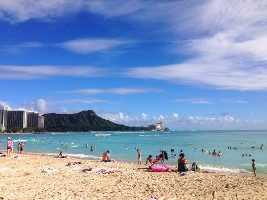 常夏のリゾート地ハワイ