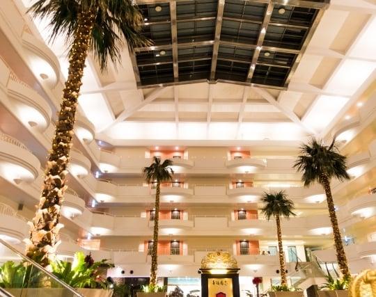 立派なホテルの夢