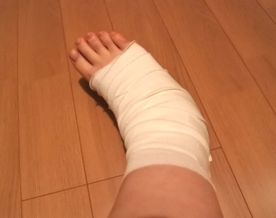 足を怪我する夢