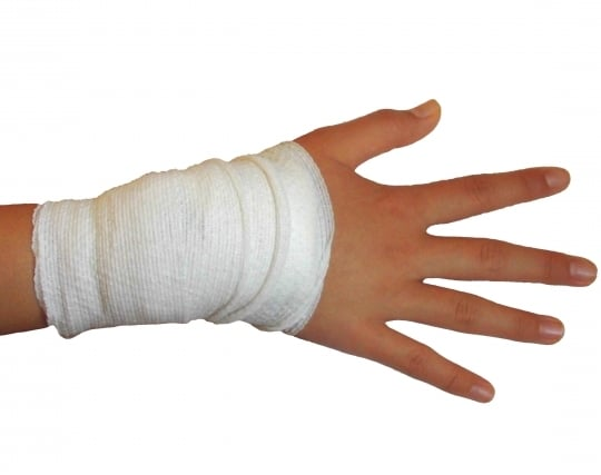 手を怪我する夢