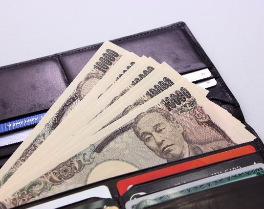 財布にたくさんのお金が入っている夢