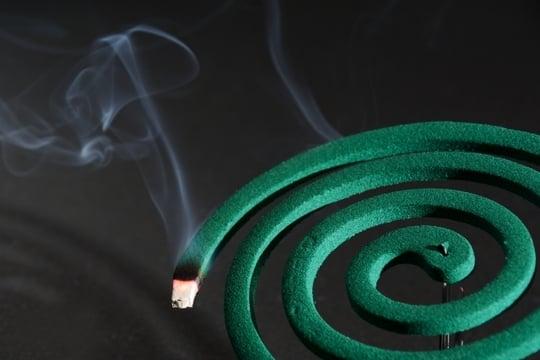 蚊取り線香に火を点ける夢