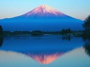 美しい火山を見る夢