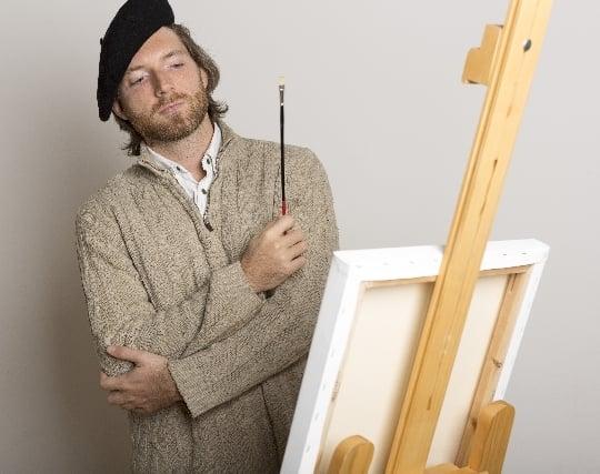 画家になって絵を描く夢