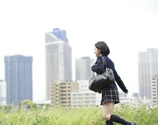 楽しい気持ちで通学する夢